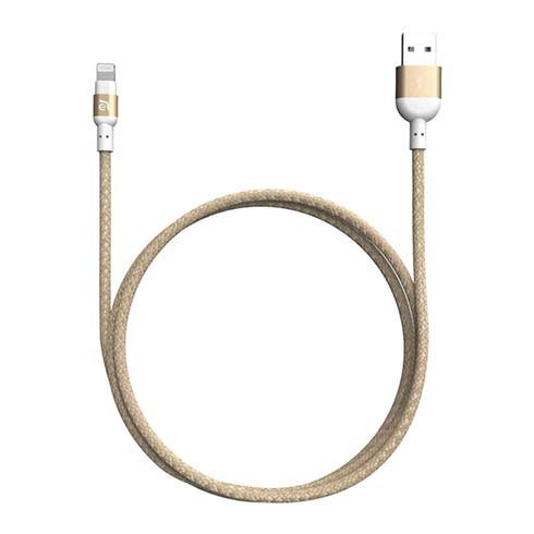 Adam Elements kábel PeAk II 200B Lightning to USB 2m - Gold