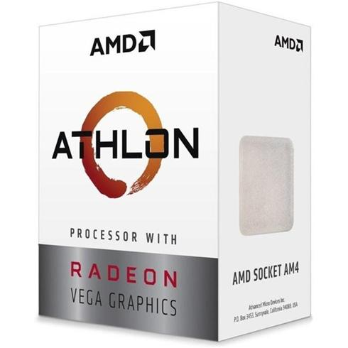AMD Athlon  240GE (3,5GHz / 5MB / 35W / RX Vega / Socket AM4) Box