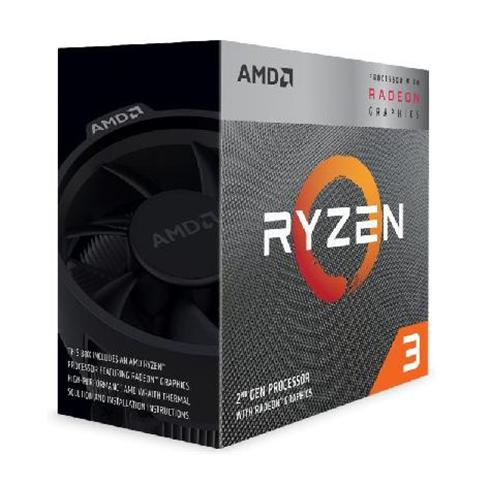 AMD Ryzen 5 3400G (3,7GHz / 4MB / 65W / RX Vega / Socket AM4) Wraith Spire Cooler