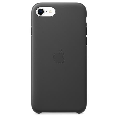 Apple iPhone SE/8/7 Leather Case - Black