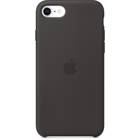 Apple iPhone SE/8/7 Silicone Case - Black