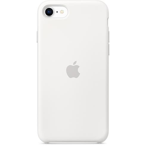 Apple iPhone SE/8/7 Silicone Case - White