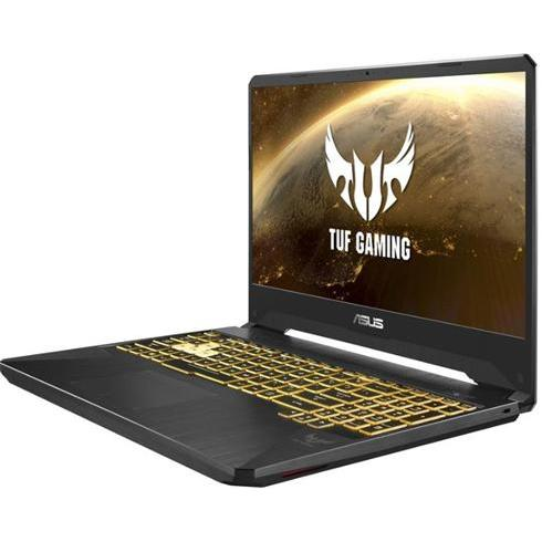 ASUS TUF Gaming FX505DY-BQ110T, R5-3550H, 8GB, 512GB PCIe, Nvidia RX560(4), Win10 Home, Red Matter