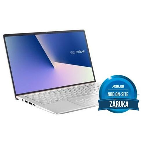 ASUS Zenbook 14 UX433FAC-A5125T, i5-10210U, 8GB, 256GB PCIe SSD, UHD 620, Win10 Home, Silver, 2y On-Site