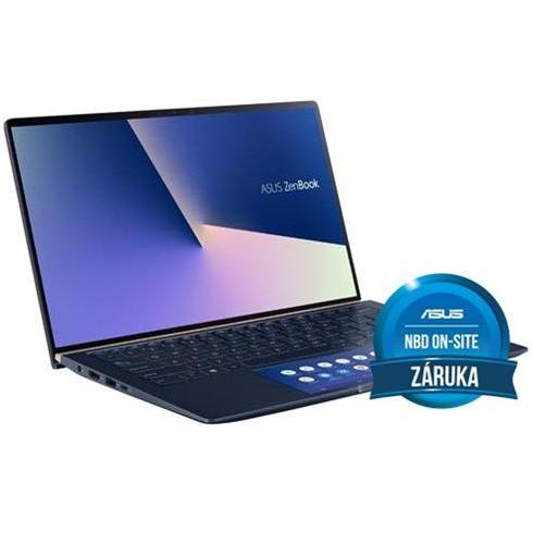 ASUS Zenbook 14 UX434FLC-A5164T, i7-10510U, 16GB, 1TB SSD, Nvidia MX250(2), Win10 Home, Royal Blue, 2y On-Site