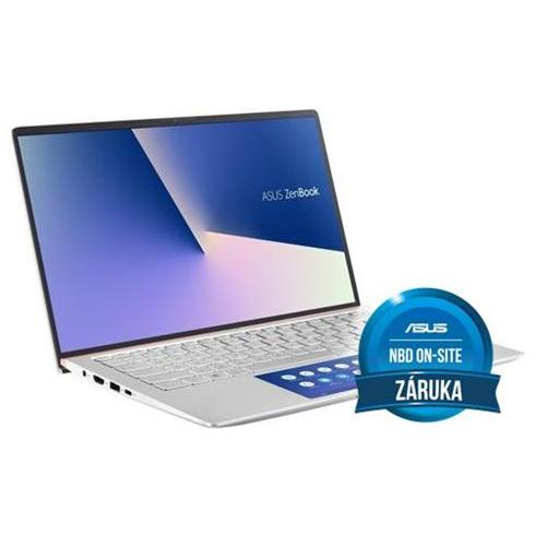 ASUS Zenbook 14 UX434FLC-A5281T, i7-10510U, 16GB, 1TB SSD, Nvidia MX250(2), Win10 Home, Silver, 2y On-Site