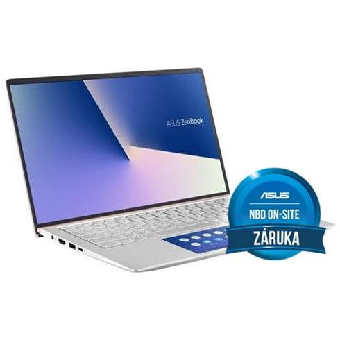 ASUS Zenbook 14 UX434FLC-A5293T, i5-10210U, 8GB, 512GB PCIe SSD, Nvidia MX250(2), Win10 Home, Silver, 2y On-Site