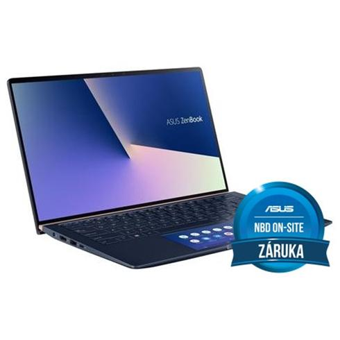 ASUS Zenbook 14 UX434FLC-A5294T, i5-10210U, 8GB, 512GB PCIe SSD, Nvidia MX250(2), Win10 Home, Blue, 2y On-Site