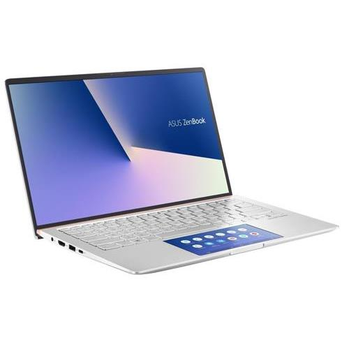 ASUS Zenbook 14 UX434FLC-A5506T, i7-10510U, 16GB, 1TB SSD, Nvidia MX250(2), Win10 Home, Icicle Silver, 2y On-Site
