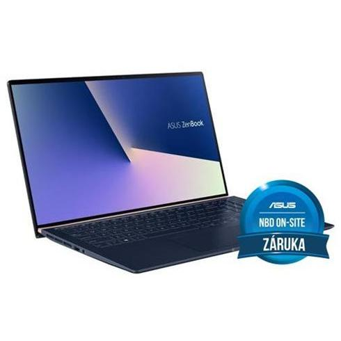 ASUS Zenbook 15 UX533FTC-A8187R, i7-10510U, 16GB, 512GB SSD, Nvidia GTX1650(4), Win10 Pro, Royal Blue, 2y On-Site