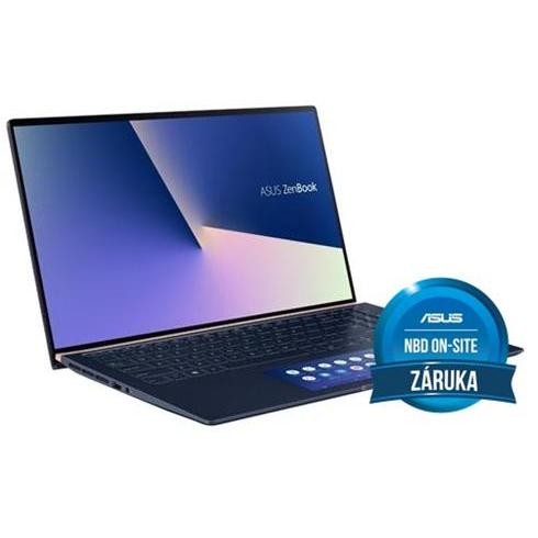 "ASUS Zenbook 15 UX534FT-A9002T i7-8565U, 16GB, 512GB SSD, GTX 1650 4GB, 13,3"" FHD, Royal Blue Metal, Win 10"
