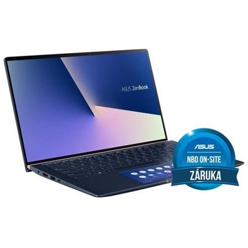 "ASUS Zenbook 15 UX534FT-AA024R i7-8565U, 16GB, 512GB SSD, GTX 1650 4GB, 15,6"" UHD, Royal Blue Metal, Win 10 Pro, 2y On-Site"