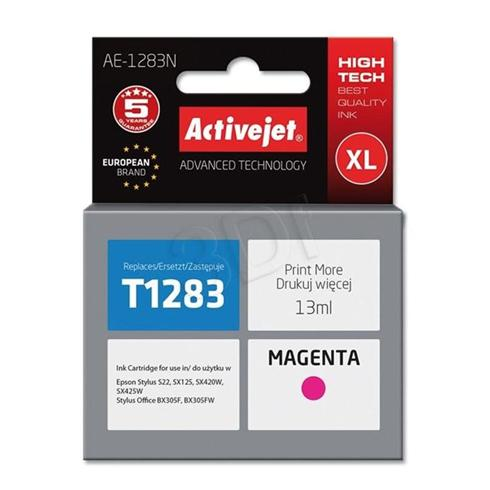 Atrament ActiveJet pre Epson T1283 Magenta 13 ml