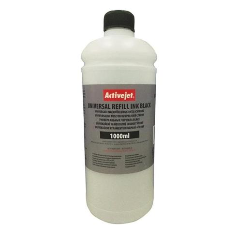 Atrament ActiveJet Universal 1000ml Black URB-1000Bk