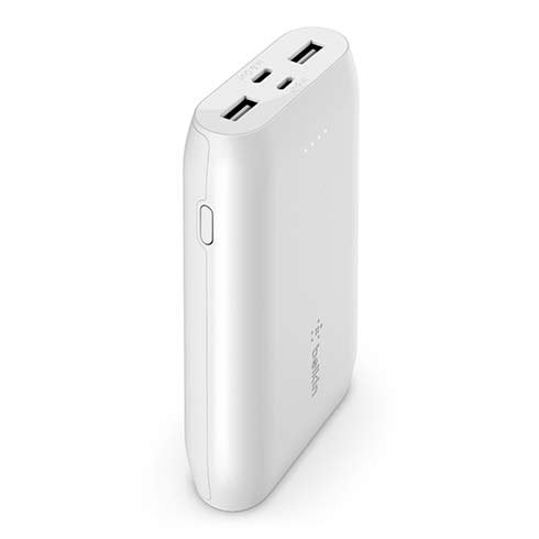 Belkin Boost Charge powerbank 10K Multiport - White