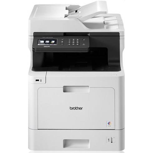 Brother DCP-L8410CDW, A4 laser color MFP, print/scan/copy, 31 strán/min, 2400x600, duplex, USB 2.0, LAN, WiFi
