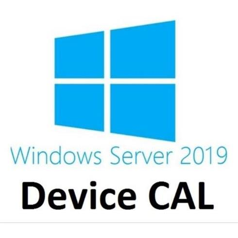 DELL 5-pack of Windows Server 2019/2016 Device CALs (STD or DC) Cus Kit