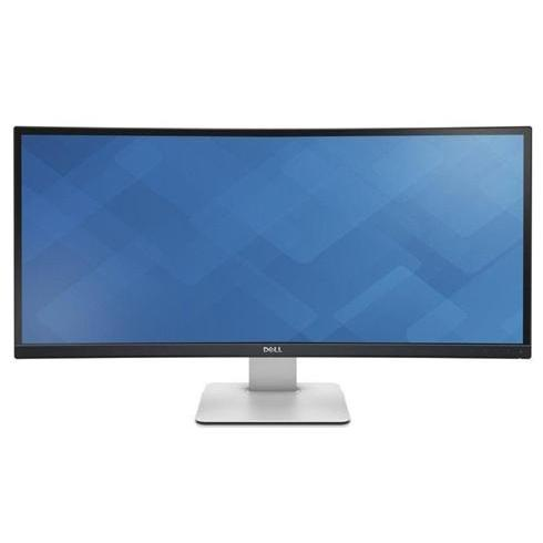 "DELL U3415W, 34"", IPS LCD, W-LED, 3440x1400, 21:9, 8ms, 1000:1, 300cd, HDMI, DP, mini DP, USB 3.0, USB C, Black"
