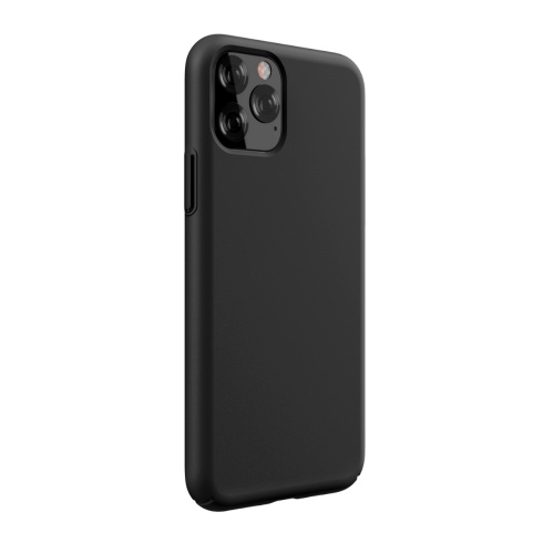 Devia kryt Nature Series Silicone Case pre iPhone 11 - Black