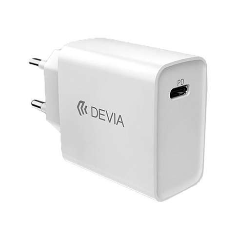 Devia sieťová nabíjačka Smart series PD Quick Charger 20W - White