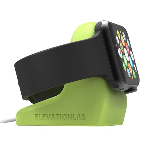 Elevationlab Nightstand for Apple Watch Green