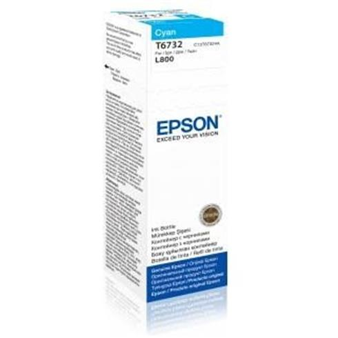 EPSON ink bar T6732 Cyan ink container 70ml pro L800/L1800