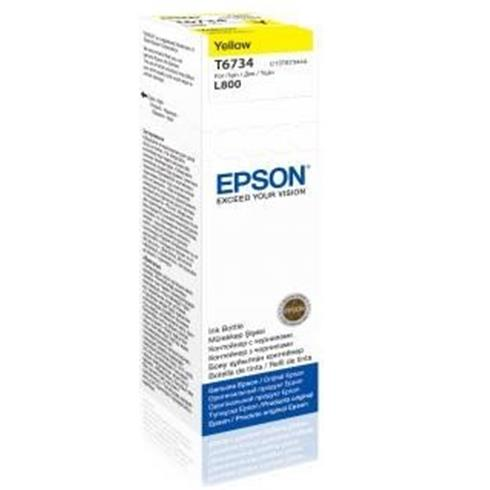 EPSON ink bar T6734 Yellow ink container 70ml pro L800/L1800