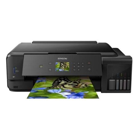Epson L7160 A4 color All-in-One, foto tlac, potlac CD/DVD, duplex, USB, LAN, WiFi, iPrint