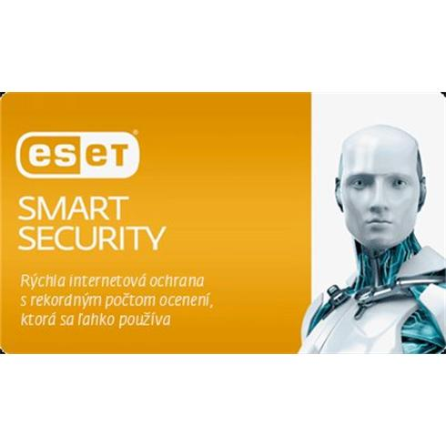 ESET Internet Security ;  4 PC + 2 ročný update