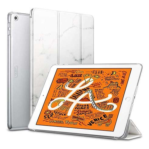 ESR puzdro Colour Edition pre iPad mini 5 gen. (2019) - Marble White