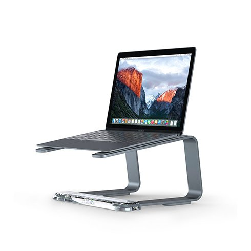 Griffin stojan Elevator pre MacBook - Space Gray Aluminium