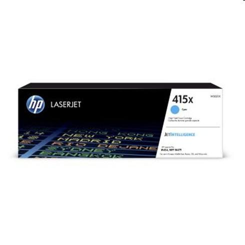 HP 415X Cyan LaserJet Toner Cartridge