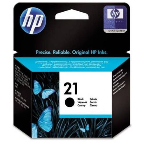 HP originál ink C9351AE, HP 21, black, 150str., 5ml, HP PSC-1410, DeskJet F380, OJ-4300, Deskjet F2300