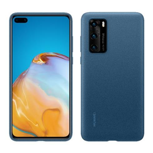 Huawei Silicone Case P40 Modry
