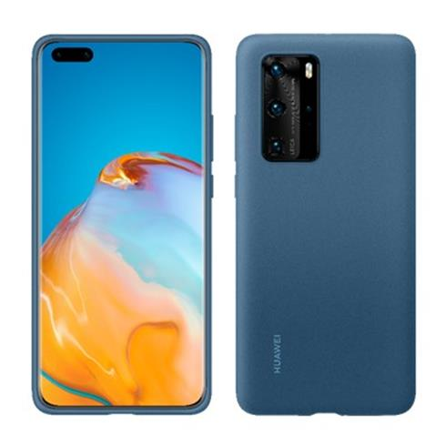 Huawei Silicone Case P40 Pro Modry