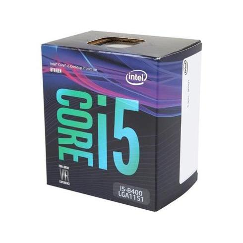 INTEL Core i5-8400 (2,8Ghz / 9MB / Soc1151 / VGA) Box