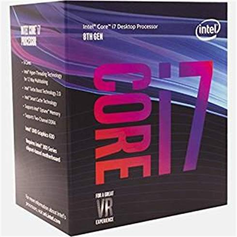 INTEL Core i7-8700 (3,2Ghz / 12MB / Soc1151 / VGA) Box