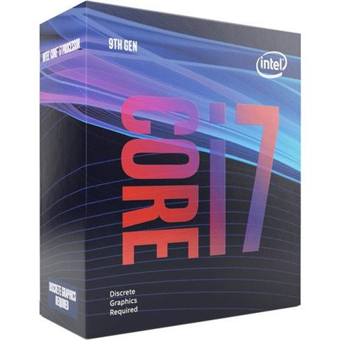 INTEL Core i7-9700F (3,6Ghz / 12MB / Soc1151 / noVGA) Box