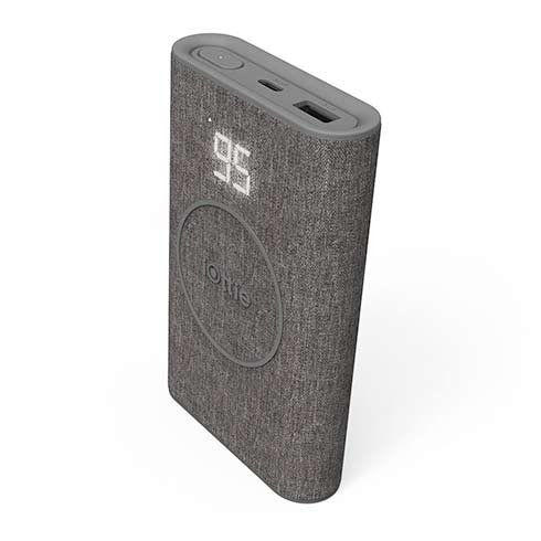 iOttie powerbank iON Wireless Go 10.000 mAh - Grey Ash