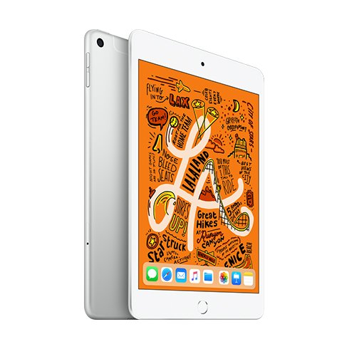 iPad mini Wi-Fi + Cellular 64GB Silver
