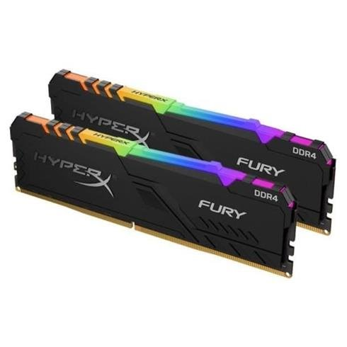 Kingston 32GB DDR4-3200MHz CL16 HyperX Fury RGB, 2x16GB KIT