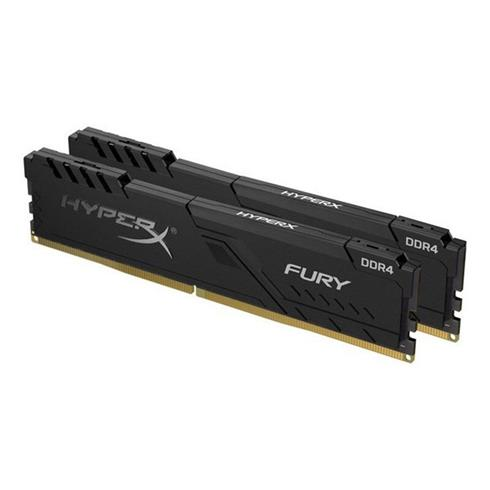Kingston 8GB DDR4 2666MHz CL16 HyperX Fury (Kit of 2)