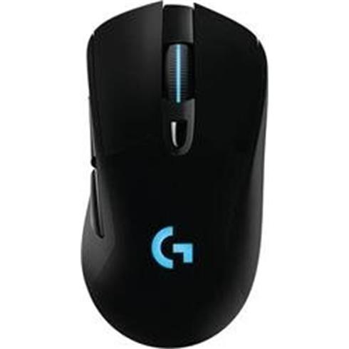Logitech G703 LIGHTSPEED Wireless Gaming Mouse with HERO 16K Sensor - BLACK
