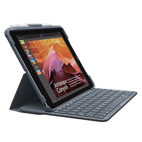 Logitech SLIM FOLIO with Integrated Bluetooth Key