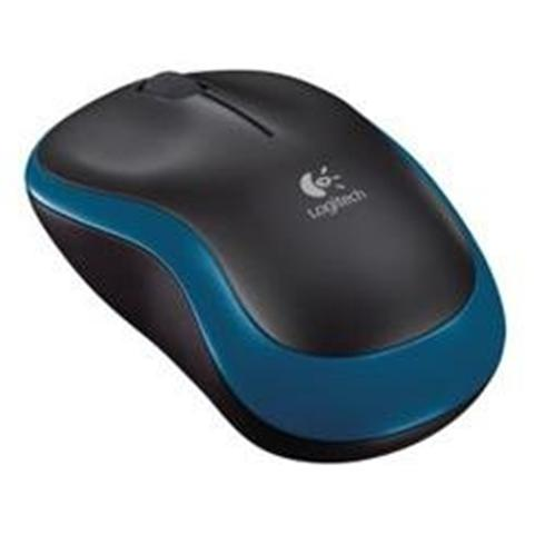 Logitech Wireless Mouse M185 - BLUE - 2.4GHZ - EER2