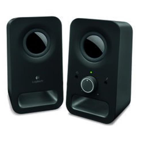 Logitech Z150 Multimedia Speakers - MIDNIGHT BLACK - 3.5 MM