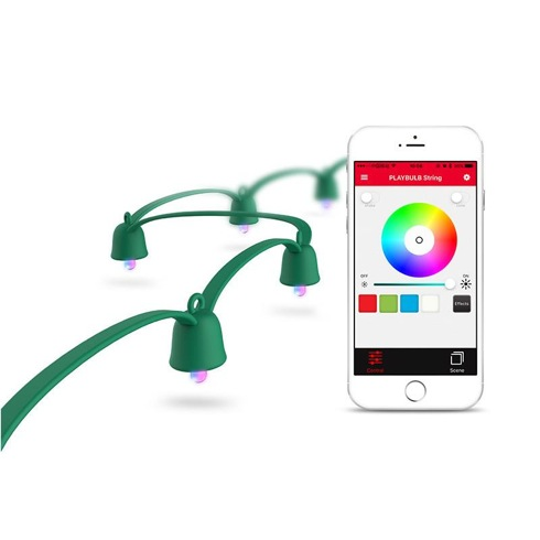 MiPow Playbulb™ String Smart LED reťaz 10 m