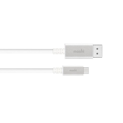 Moshi kábel USB-C to DisplayPort 1.5m 5K 60fps - White