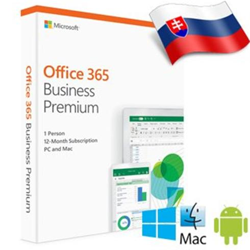MS Office 365 Business premium - Slovak Medialess