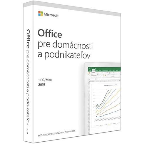 MS Office Home and Business 2019 SK P6